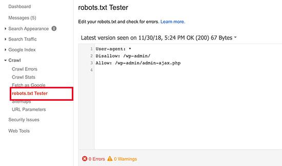 WordPress 的 robots.txt 设置方法