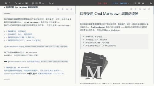 Markdown编辑器Cmd Markdown