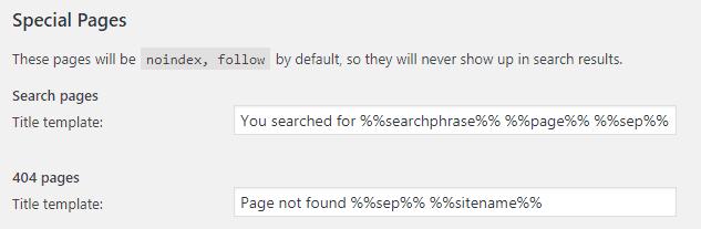 yoast 404模板