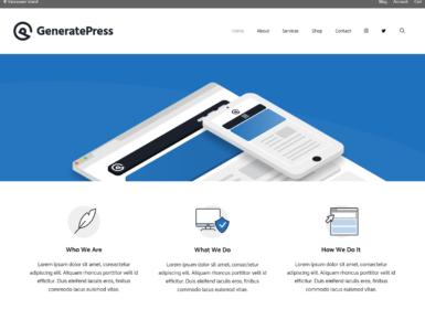 GeneratePress,轻量而又强大的 WordPress 主题