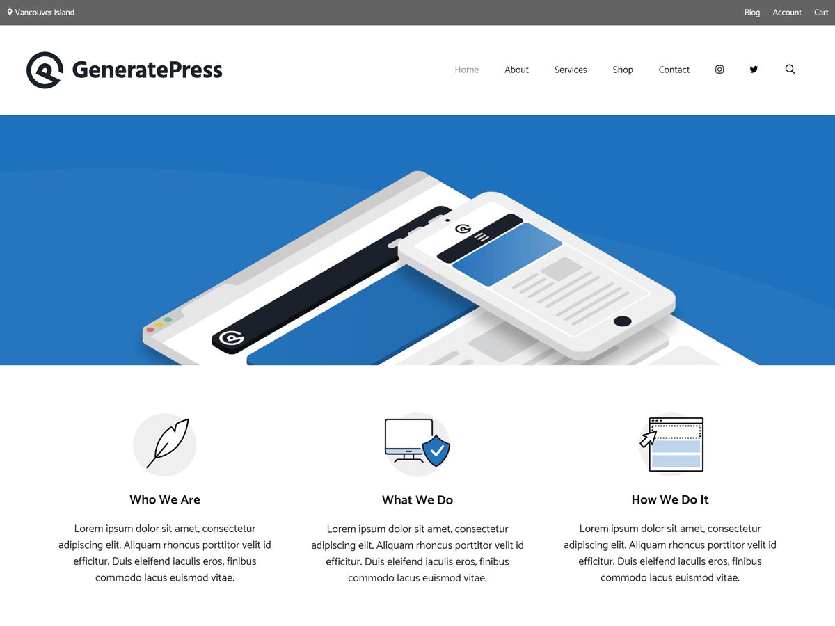 免费下载 GeneratePress Premium v2.0.0 alpha.5 (最新版)持续更新