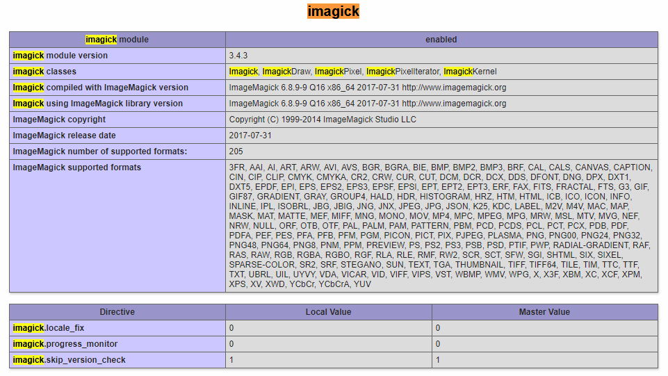 在Ubuntu 18.04中为PHP 7安装Imagick模块