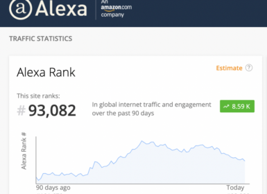 网站 Alexa 排名可信吗?